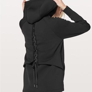 ISO Lululemon Black Tied to You Jacket